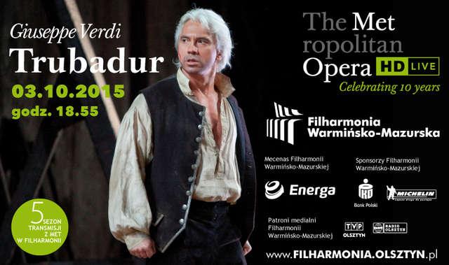 Nowy sezon Metropolitan Opera w Filharmonii Warmińsko-Mazurskiej - full image