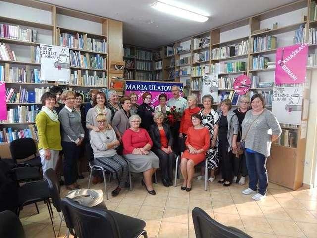 Spotkanie z Marią Ulatowską i Jackiem Skowrońskim w bibliotece - full image