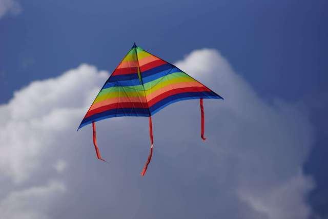 Dmuchawce, latawce, wiatr... na lotnisku na Dajtkach - full image