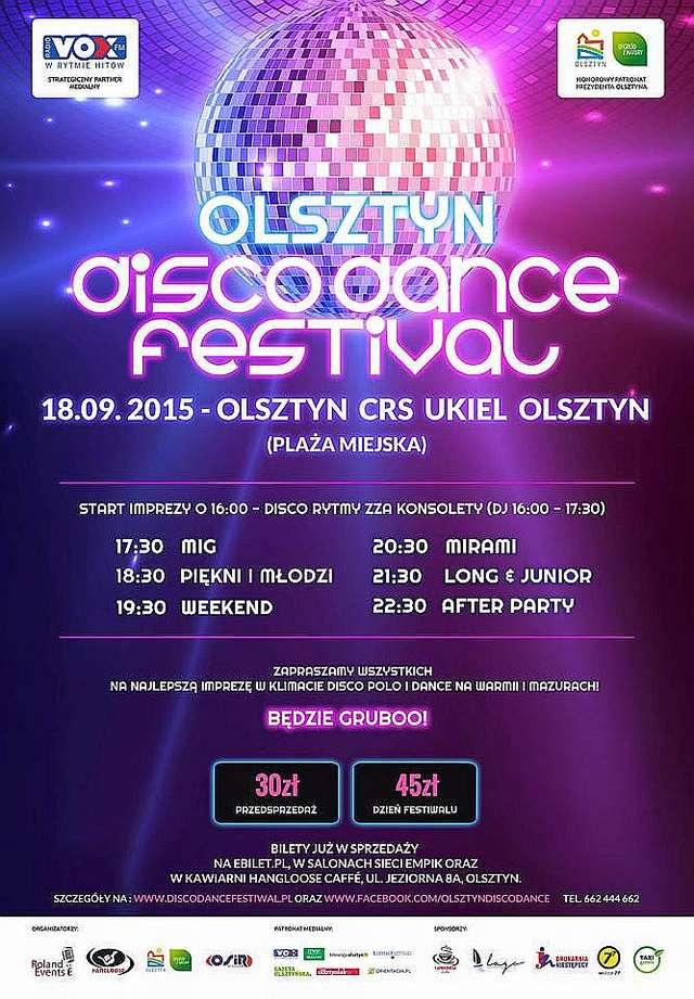 Zapraszamy na Olsztyn Disco Dance Festiwal nad jeziorem Ukiel! - full image