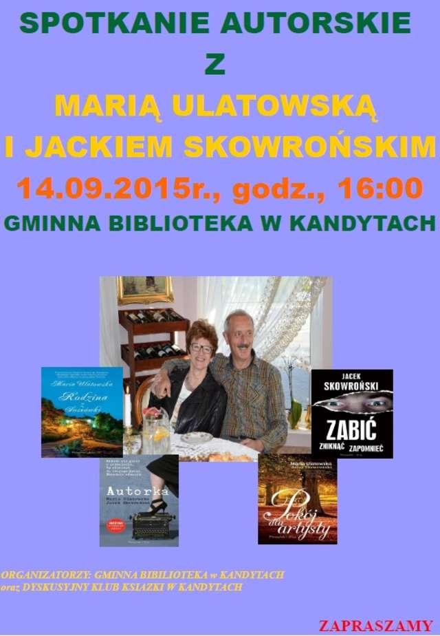 Spotkanie autorskie w bibliotece w Kandytach - full image