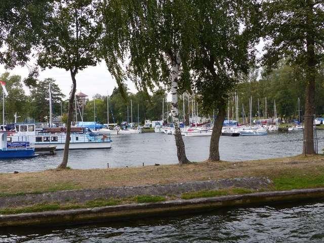 Giżycko, port jachtowy na jeziorze Niegocin - full image