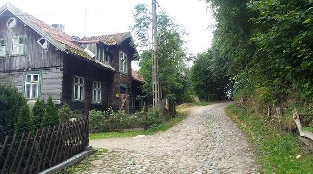 Olsztyński szlak rowerowy: Olsztyn (Tęczowy Las) - Jezioro Kielarskie - Ruś - jeziora Ustrych i Jełguń - Tęczowy Las  - full image