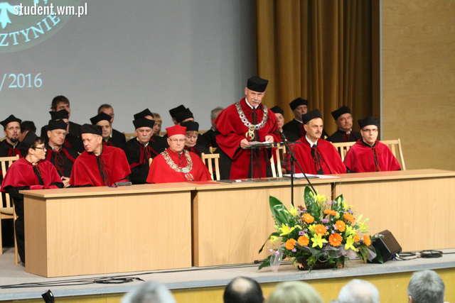 Początek roku akademickiego i pierwsze inauguracje na UWM - full image