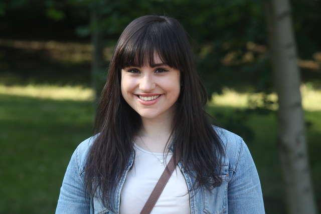 Joanna Nawotka będzie studiowała na kierunku gospodarka przestrzenna  - full image