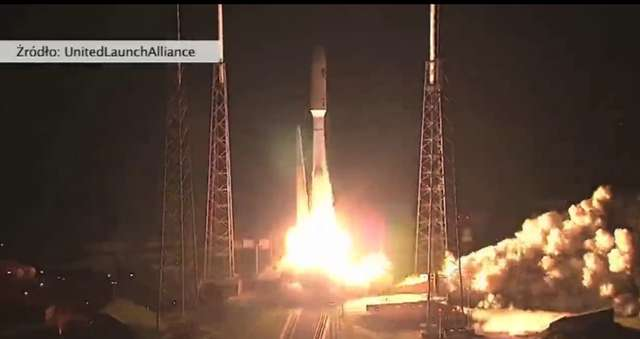 Rakieta Atlas V wystartowała z Przylądka Canaveral na Florydzie - full image