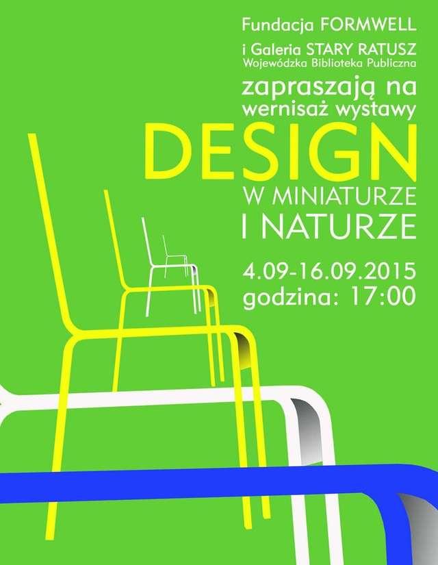Polski design w miniaturze i naturze, czyli drukowanie na Warmia Mazury Design Festival - full image