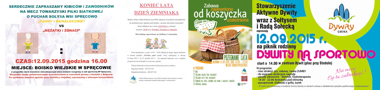 Festyny i pikniki na pożegnanie lata - sobota pełna imprez w Dywitach!