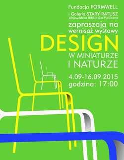 Polski design w miniaturze i naturze, czyli drukowanie na Warmia Mazury Design Festival