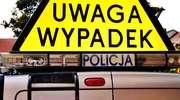 Zderzenie busa z osobówką pod Zgonem. 2 osoby ranne