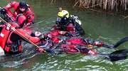 Nurek z PSP Mrągowo stracił przytomność pod wodą