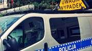 """Kierowca daewoo jednak na ,,podwójnym gazie"""". Policja szuka świadków potrącenia rowerzysty w Szymakach"""