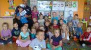Policjant spotkał się z przedszkolakami z Jednorożca