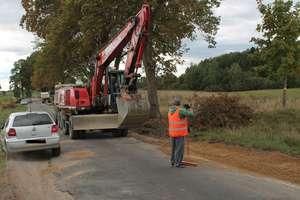 Ruszyła przebudowa drogi w Gradkach