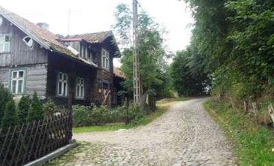Rowerowa obwodnica Olsztyna (4): Olsztyn (Tęczowy Las) - jezioro Kielarskie -Ruś - jeziora Ustrych i Jełguń - Tęczowy Las