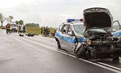 Policjantowi grozi 8 lat więzienia za wypadek, w którym zginął motocyklista z Iławy