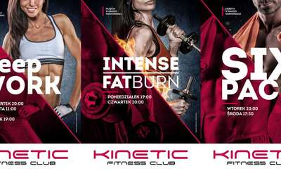 deepWORK, FATburn i SIX PACK. Nowe zajęcia w Kinetic Fitness Club