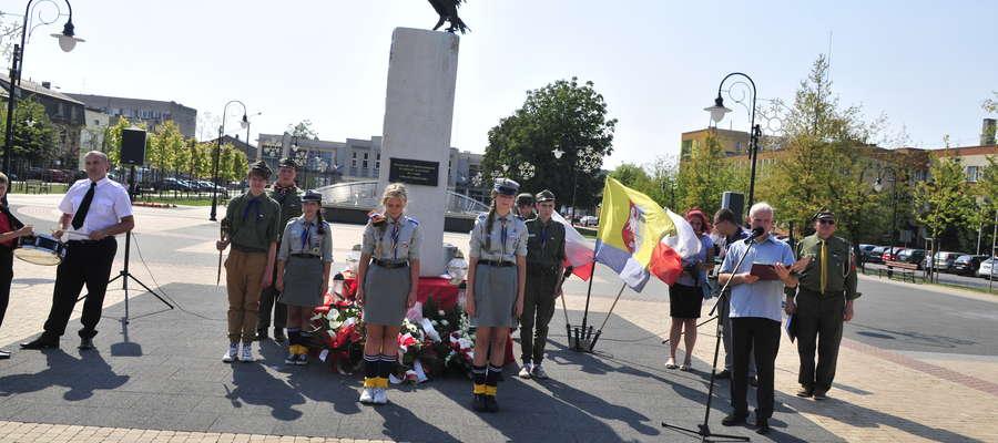 O oprawę uroczystości zadbali harcerze i Żuromińskie Centrum Kultury