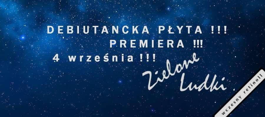 Zielone Ludki zapraszają na koncert - Uwaga - premiera płyty