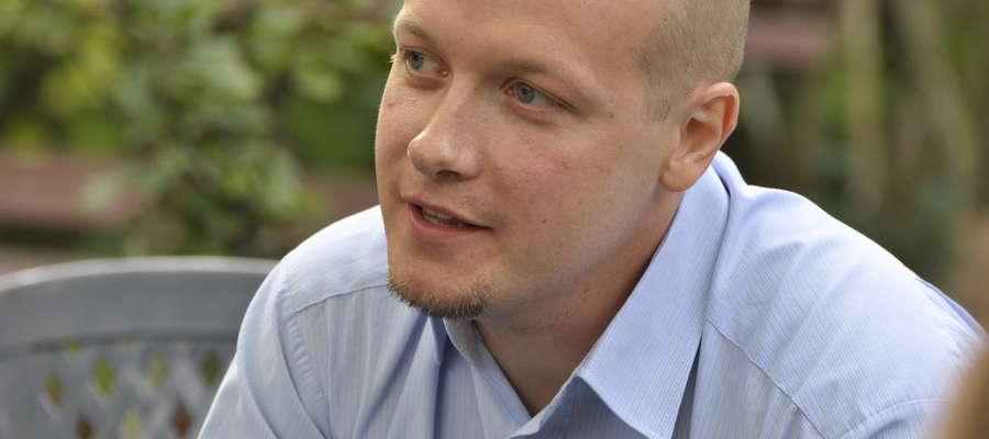 Michał Bodenszac przekonuje, że program ma szanse rozruszać lokalny rynek pracy