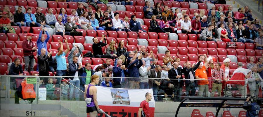 Kibice z Bieżunia zapewnili Małachowskiemu wspaniały doping