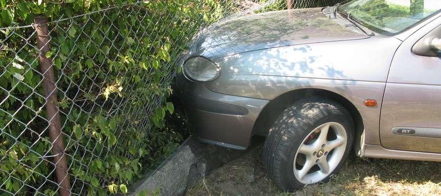 Tak zakończyła się jazda pijanego kierowcy
