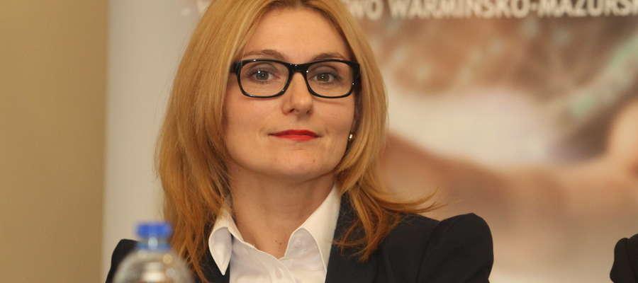 Sylwia Jaskulska, członek zarządu województwa warmińsko-mazurskiego