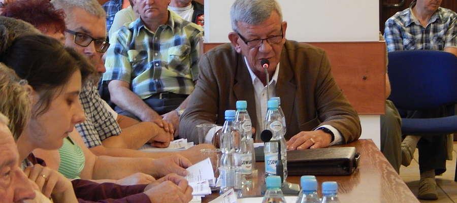 Zbigniew Cherek, prezes Przedsiębiorstwa Wodociągów i Kanalizacji w Gołdapi, zaproponował podwyżkę ceny ścieków.