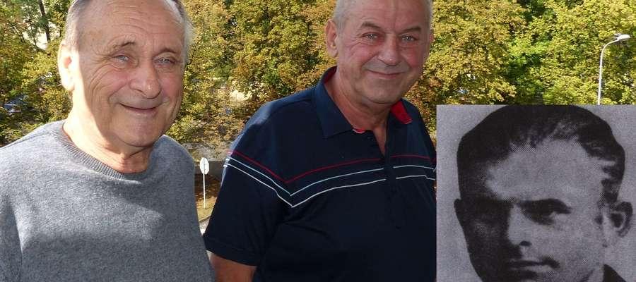 W Iławie mieszka trzech synów kaprala Edmunda Szamlewskiego (czwarty z żyjących mieszka w Szwecji). Na zdjęciu Henryk (z lewej) i Władysław, w rogu zdjęcie kaprala Szamlewskiego