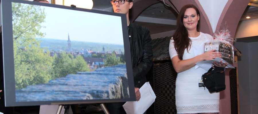 Aleksandra Szymańska i jej zdjęcie