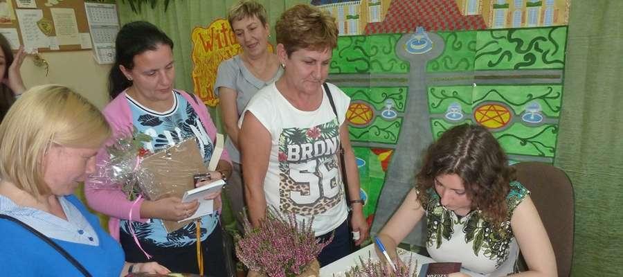 Odwiedziny Katarzyny Bereniki Miszczuk