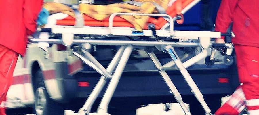 W sobotnim wypadku ucierpiały dwie osoby