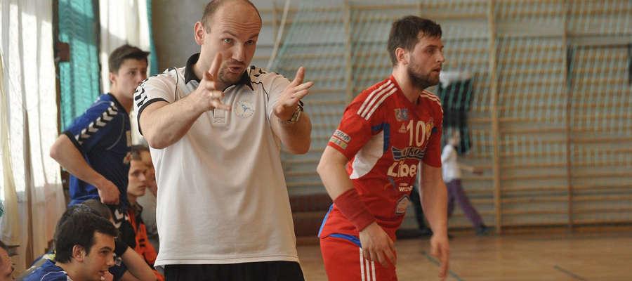 Krzysztof Maciejewski, trener Szczypiorniaka Olsztyn