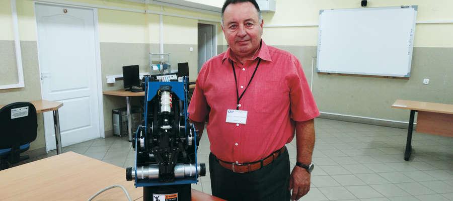 Romuald Mackojć, dyrektor Centrum Kształcenia Praktycznego w Elblągu