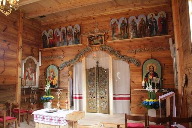 Konsekracja cerkwi Opieki Przenajświętszej Bogurodzicy w Godkowie - full image