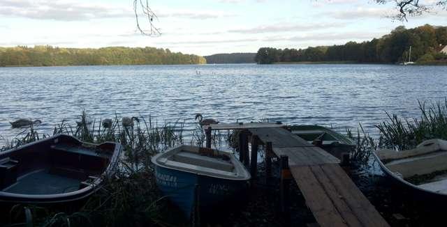 Łupsztych: widok na jezioro Ukiel