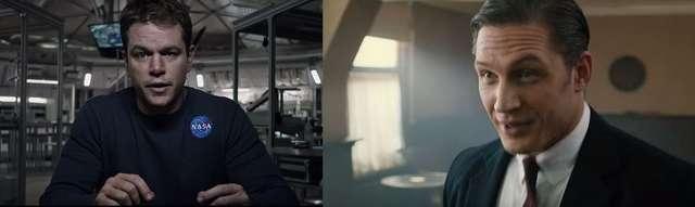 Tom Hardy, czy Matt Damon? Którego z tych aktorów chcesz zobaczyć dzisiaj w kinie? Złap bilet! - full image