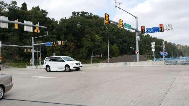 Skrzyżowanie k. Pittsburgha, USA, OH
