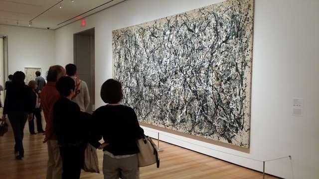 Museum of Art na Manhattanie w Nowym Jorku, dzieło Jacksona Polocka