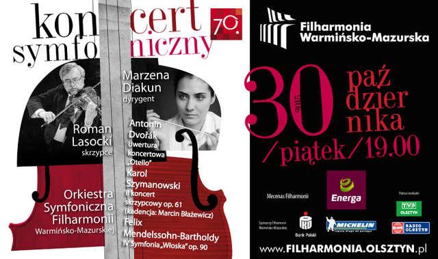 Dvořák, Szymanowski i Mendelssohn-Bartholdy w Olsztynie - full image