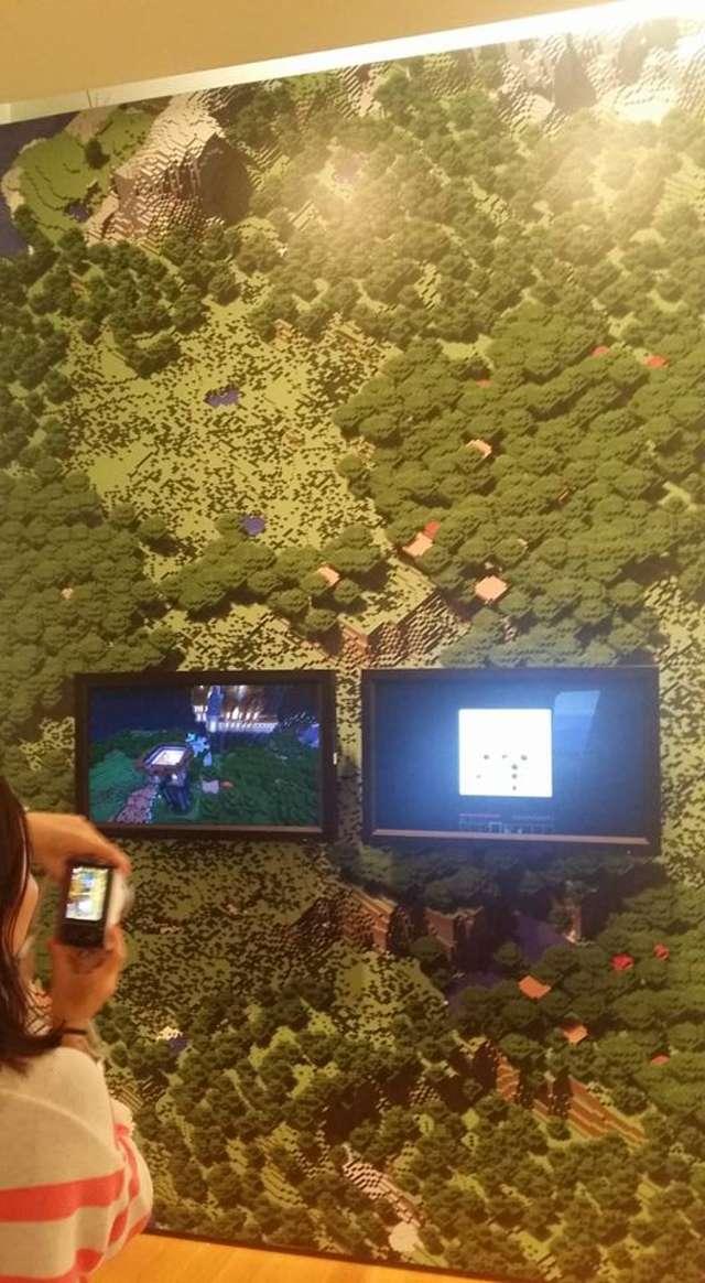 Museum of Art na Manhattanie w Nowym Jorku, minecraft, kultowa gra komputerowa