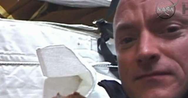 Astronauta Scott Kelly jest najdłużej przebywającym człowiekiem w kosmosie - full image