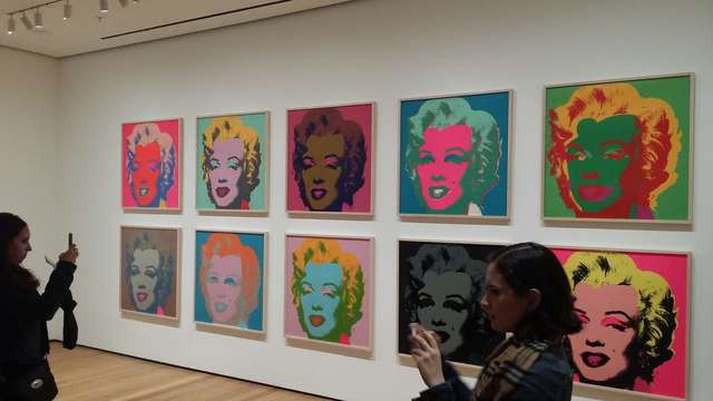 Andy Warhol i jego wariacje na temat Marylin Monroe