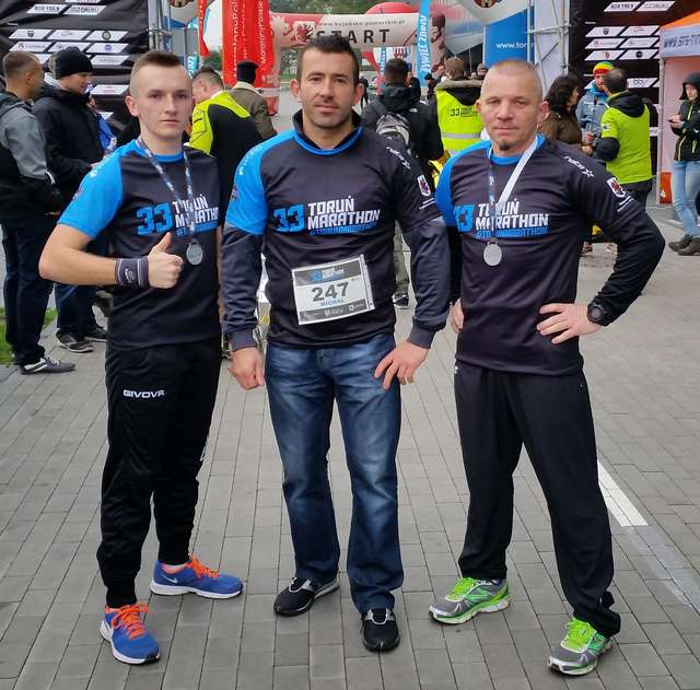 Od lewej: Michał Grzywacz, Michał Ławicki i Leszek Jobs