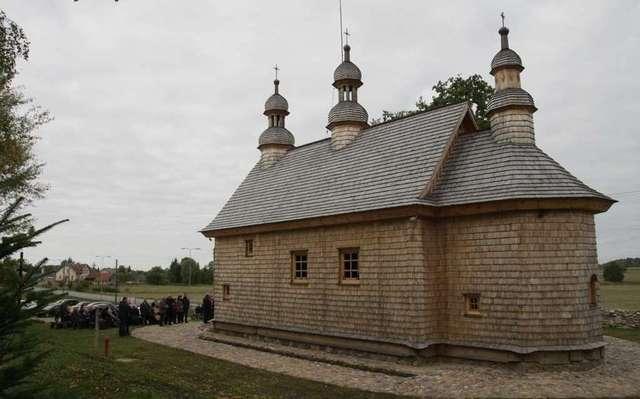 Zrekonstruowana cerkiew w Godkowie - full image