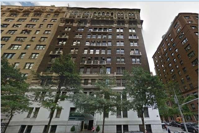 Tu będę mieszkał przez część pobytu w Nowym Jorku - to samo centrum Manhattanu - full image