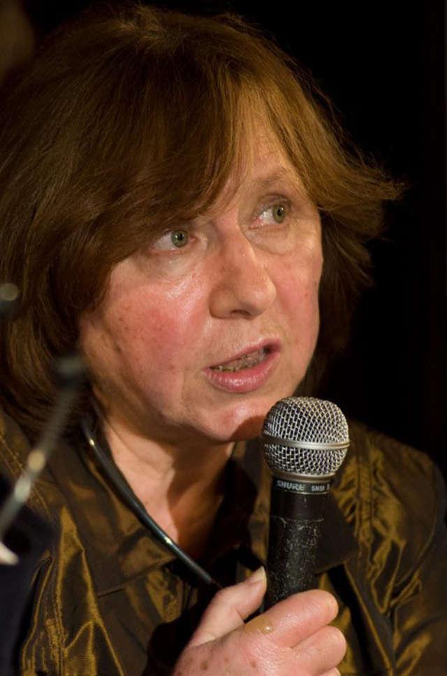 Swietłana Aleksijewicz, laureatka Literackiej Nagrody Nobla 2015 - full image