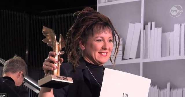Olga Tokarczuk laureatką Nagrody Literackiej Nike 2015 - full image