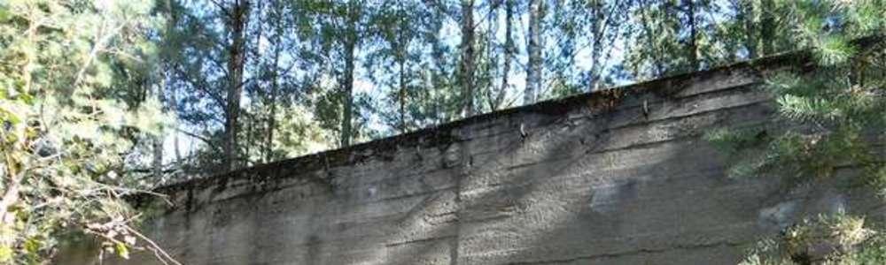 Kaługa: Stara rampa jak poniemiecki bunkier