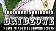 Turniej brydżowy nad Drwęcą